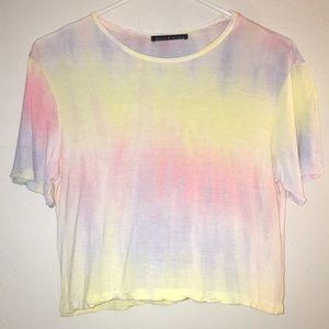 Brandy Melville Tie Dye Crop Top